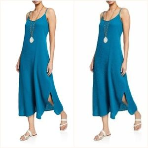 Eileen Fisher Women's Blue Lofty Organic Dress